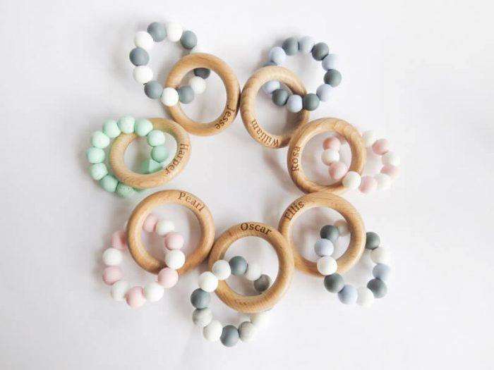 Teething Ring - Elle Belle Bespoke